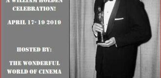 4th Golden Boy Blogathon: A William Holden Celebration